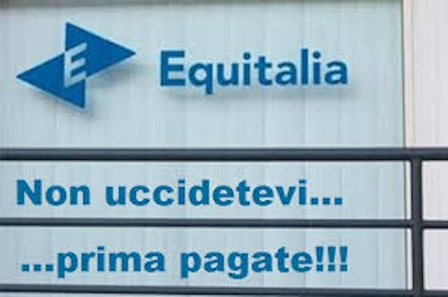 Immagine di una cartella esattoriale di equitalia