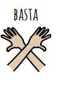 Simbolo usato nella comunicazione aumentativa alternativa al fine di dichiarare l'avvenuta conclusione di un gioco.