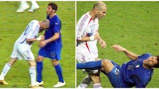 Testata di Zidane a Marco Materazzi