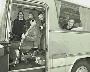 Foto del retro copertina dell'album