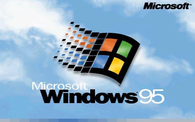 Schermata iniziale del sistema operativo Ms-Windows